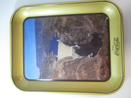 Coca Cola Hoover Dam 50th Anniversary Commemorative Tray  - $9.41
