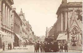 High Street Inverness Scotland vintage Post Card - $7.00