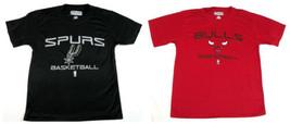 Boy's 6-18 NBA Exclusive Collection Tee Shirt Short Sleeve T-Shirt Bulls Spurs