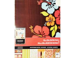 Colorbok 12x12 Sun Kissed Paper Pad #59076