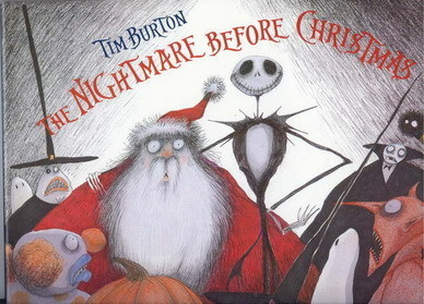 Nightmare Before Christmas Santa  Book