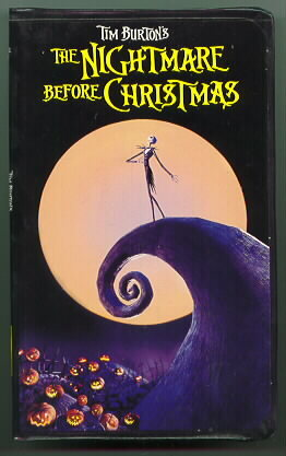Nightmare Before Christmas Video MOVIE Factory Sealed