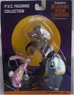 Nightmare Before Christmas Werewolf, Bunny etc MOC