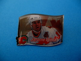 Jarome Iginla NHL Hockey Souvenir Lapel Hat Pin - $6.99