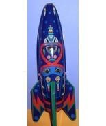 Rocket Ship Mars Raider X-2 Friction Powered Tin toy - $59.99