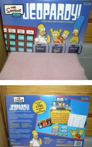 Simpsons Jeopary GAME Ship World Wide