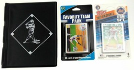 NY New York Mets Baseball Card Collecting Starter Kit 2011 Book Album To... - $3.39