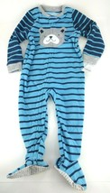 New Carter's 1-Piece Dog Fleece Pajama PJs Footie Sleeper Toddler Boy 2T - $13.06