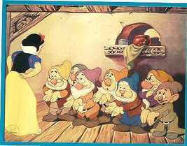 Snow White & the 7 Dwarfs -  Special Edition Lithograph - $36.59