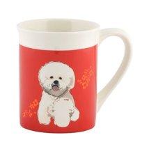 Department 56 Go Dog Bichon Mug, 4.5 inch