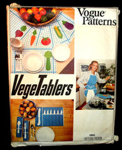 Fun 1970's Vintage Pattern For Kitchen Accessories and Appliance Covers Vogue V  - $7.00