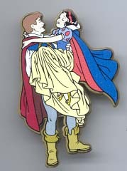 Snow White and Prince very UK Plastic Pin/Pins