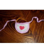 My Little Pony G1 accessory purple-pink bib for Baby Gusty - $4.00