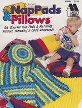Nap Pads & Pillows, Annie's Attic Crochet Pattern Booklet 878402 - $3.95
