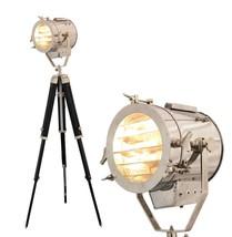 NauticalMart Floor Lamp Home Decorative Vintage Design Tripod Searchlight  - $299.00