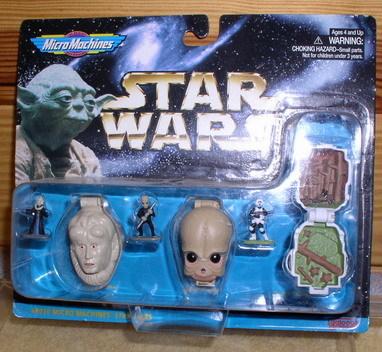 Star Wars 3 Micro Macines collection IV 1996 MOC