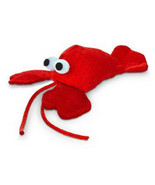 "Leaps & Bounds Lobster with Catnip Cat Toy, 4.5"" L X 2"" W - $12.86"