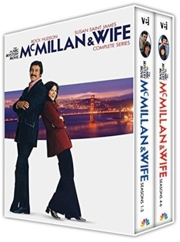 Mcmillan & Wife: The Complete Series Collection (DVD Set) Classic TV Series New