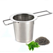 AUSTOR Tea Infuser Stainless Steel Strainer Steeper Filter with Folding... - $16.79
