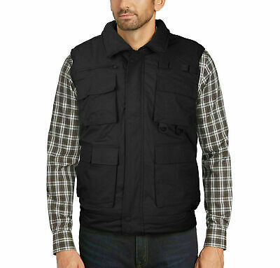 Men's Premium Multi Pocket Zip Up Military Hunting Utility Vest w/ Defect 4XL