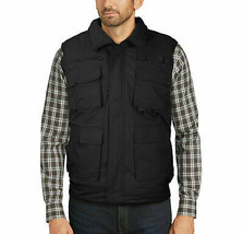 Men's Premium Multi Pocket Zip Up Military Hunting Utility Vest w/ Defect 4XL image 1