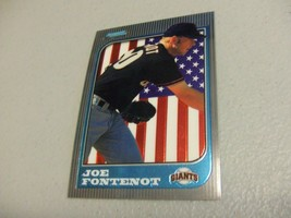1997 Bowman Chrome International ROOKIE #188 Joe Fontenot San Francisco Giants - $3.12