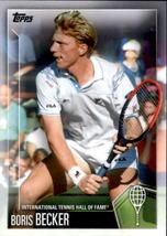 Boris Becker 2019 Topps International Tennis Hall Of Fame Card #20 - $4.00