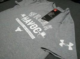 Under Armour Boy's Project Rock Wreak Havoc Graphic T-Shirt Size YS Stee... - $23.38