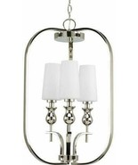 Progress Lighting P3960-104 LadyLuck Collection 3-Light Foyer Pendant, P... - $82.24