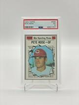 1970 TOPPS PETE ROSE #458 PSA 5 EX - $98.01