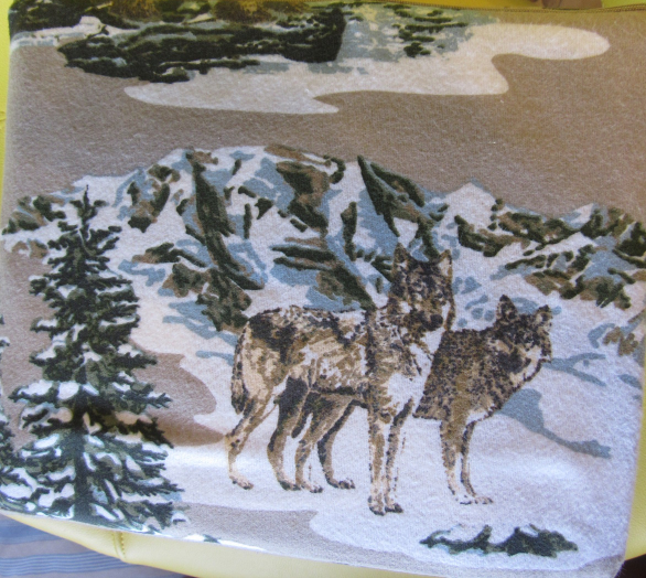 4pc Cynthia Rowley Watercolor Dog FULL Sheet Set Colorful Dachshund 100/% Cotton
