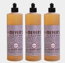 <3 Pack> Mrs. Meyer's 16 oz. Clean Day LAVENDER Liquid Dish Soap Cuts Grea - $20.95