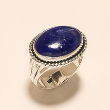 Natural Afghan Blue Lapis lazuli Ring 925 Sterling Silver Christmas Jewe... - $19.62