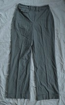 Womens Larry Levine Stretch Dress Pants ~ Gray ~ sz 4 ~ 30 Inseam ~ Exce... - $9.00
