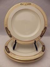 "Mikasa Crown Hall pattern - set/lot of 3 Salad plates - 8 1/4"" - #LAP20 - EUC - $18.76"