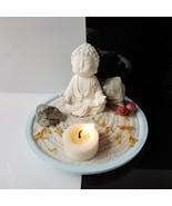 Miniature Small meditation Buddha 1802, Zen/Fairy Garden Supplies DIY Ac... - $24.74