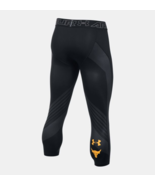 Under Armour Mens Project Rock SuperVent Armour ¾ Leggings 1304948-001 B... - $44.98