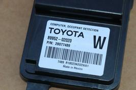 Toyota Frnt Passenger Seat Occupant Detection Sensor Module Computer 89952-02020 image 2