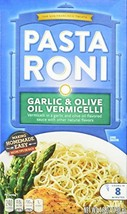 Pasta Roni, Garlic & Olive Oil Vermicelli Mix, 4.6oz Box Pack of 6