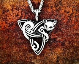 Newly Arrival Viking Norse Odin Cat For Men Amulet Scandinavian Necklace... - $9.89