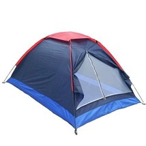 Camping Tent Single Layer Beach Outdoor Travel Windproof Waterproof 2 Pe... - $46.58