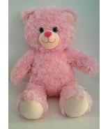 """Build A Bear Teddy Pink Fluffy Soft Plush Stuffed Animal Doll Toy 16"""" - $11.33"""