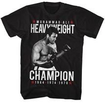 Muhammad Ali Heavyweight Champion 1964 1974 1978 Ko Fighting Boxing T Tee Shirt - $18.60+