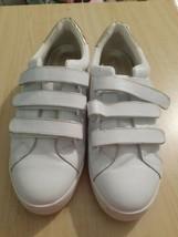 NEW Vionic Splendid Bobbi Trainer Sneakers Women's shoes size 10 White Silver - $40.00