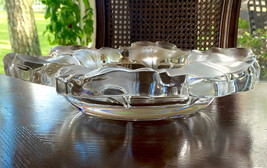Lalique Capucines Centerpiece Bowl in Mint Condition Retail $2950 - $988.02