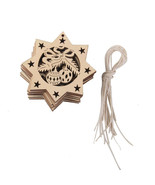 Christmas Tree Wooden Hanging Decoration Ornament Decor Xmas Gift Home O... - $9.99
