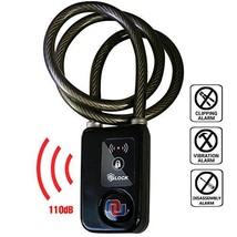 Nulock Keyless Bluetooth Bike/Motorcycle/Gate Lock IP44 Splash-Proof Cyc... - $54.50