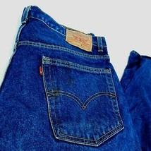 VTG Levis 505 Blue Denim Jeans Regular Fit W 42 L 32 (Act  W 40 ) USA - $34.99