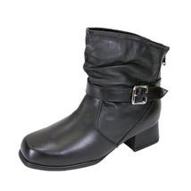 PEERAGE Jess Women Wide Width Ankle Leather Dress Booties - $89.95