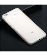 Soft Silicone Case For Xiaomi Redmi Note 4x 4 3 5a Prime (White Color) - $13.99